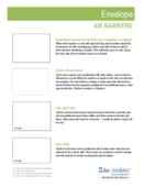 Nonresidential Installation Ace – Envelope: Air Barriers - 2016 thumbnail