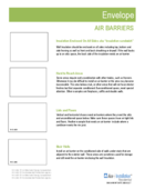 Residential Installation Ace – Envelope: Air Barriers & Sealing - 2016 thumbnail