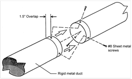 flex duct installation instructions